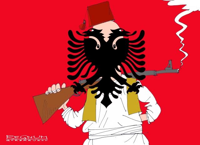 Косовский албанец