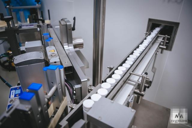 Производство лекарств на фармацевтическом заводе