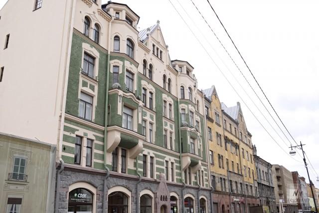 Отреставрированный дом — памятник культурного наследия
