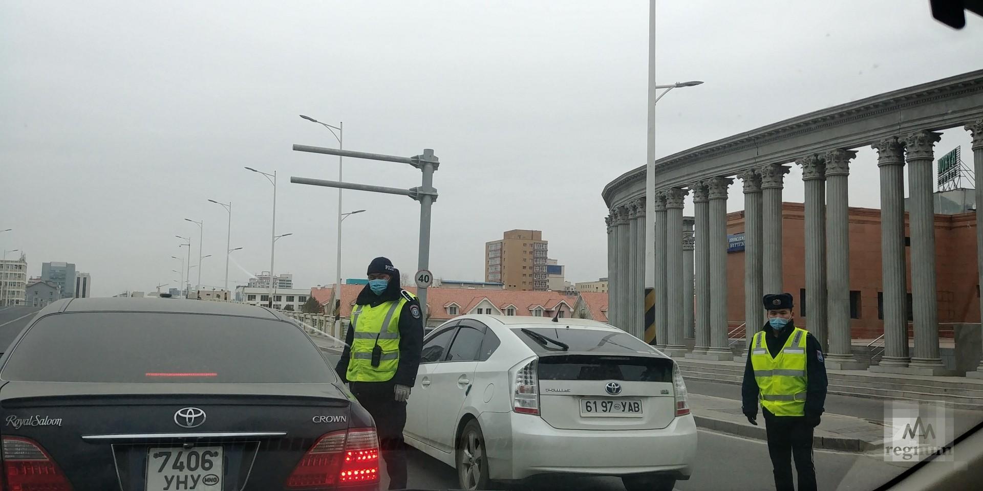 Контроль на дорогах