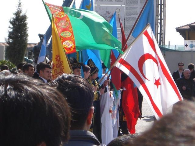 Марш пантюркистов. Стамбул