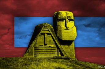 Монумент «Мы — наши горы». Нагорный Карабах