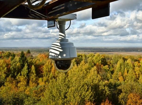 В Калужской области выявлять лесные пожары будут с помощью видеонаблюдения