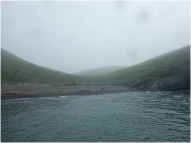 Бухта на острове Зорге