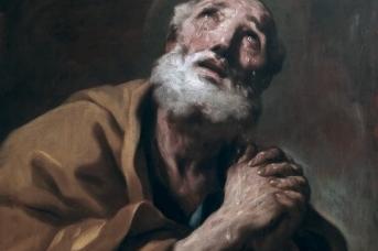 Лука Джоржано. Слезы святого Петра. 1697