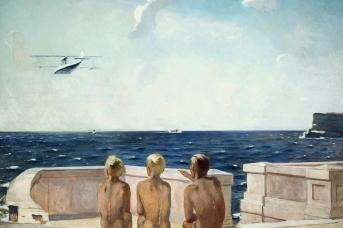Александр Дейнека. Будущие лётчики. 1937