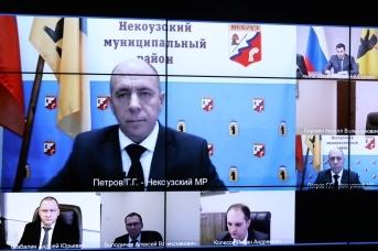 Встреча Дмитрия Миронова с Григорием Петровым