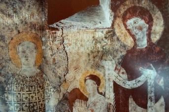 Фрески монастыря Дадиванк