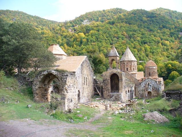 Монастырь Дадиванк в Нагорном Карабахе