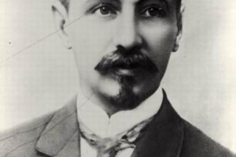 Борис Львович Розинг, изобретатель телевидения. Дореволюционное фото