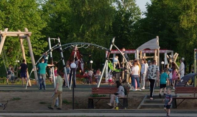 Детская площадка в Костроме