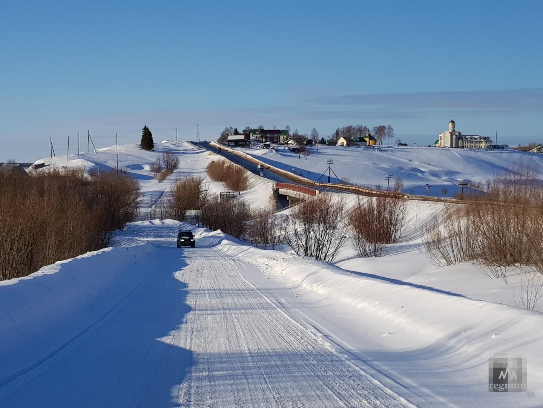 Зимой в Архангельске на велосипеде – не проблема