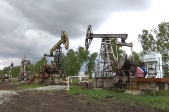 Нефтедобыча. Станки-качалки