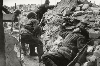 Бой за дом Павлова, Сталинград. 1942