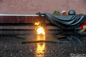 Вечный огонь у Могилы Неизвестного Солдата в Москве. Дарья Антонова (с) ИА REGNUM