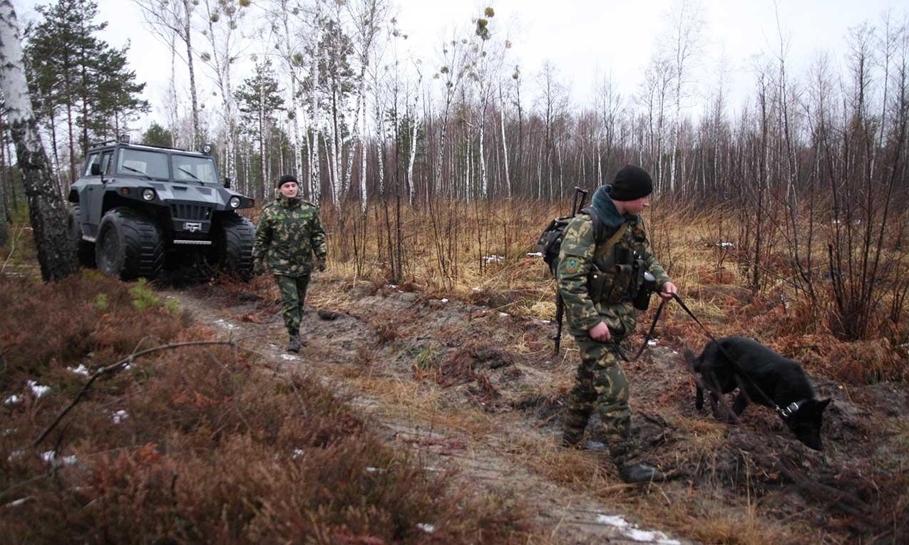 Нарушители устроили перестрелку на российско-украинской границе - ИА REGNUM