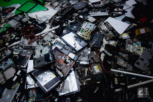 Разбитые ноутбуки