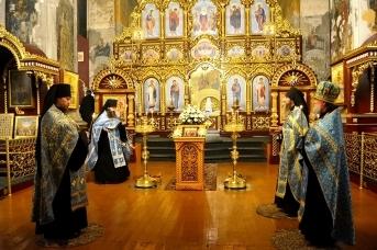 Далматовский монастырь. Праздник Введения во храм Пресвятой Богородицы 3-4 декабря 2020 года.