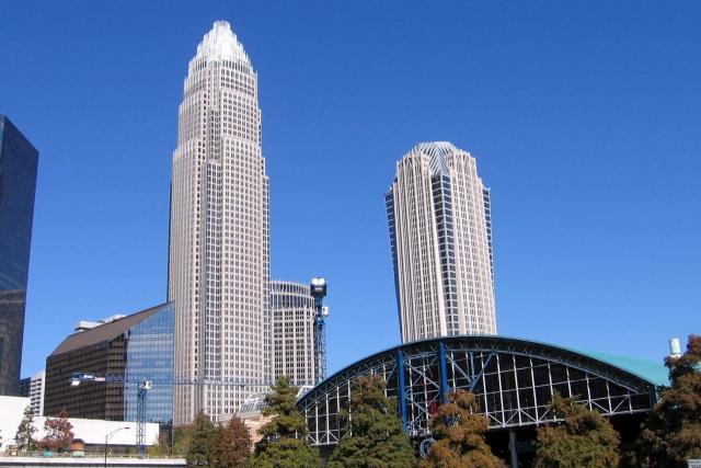 Здание Bank of America в городе Шарлотт (Северная Каролина)