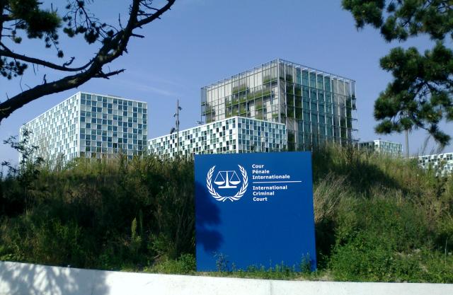 Здание Международного уголовного суда. Гаага, Нидерланды