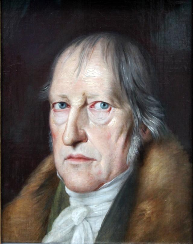 Якоб Шлезингер. Георг Вильгельм Фридрих Гегель. 1831