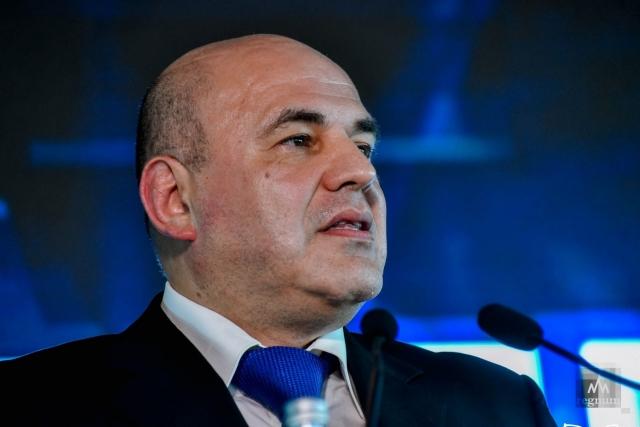 Премьер-министр Россиии Михаил Мишустин