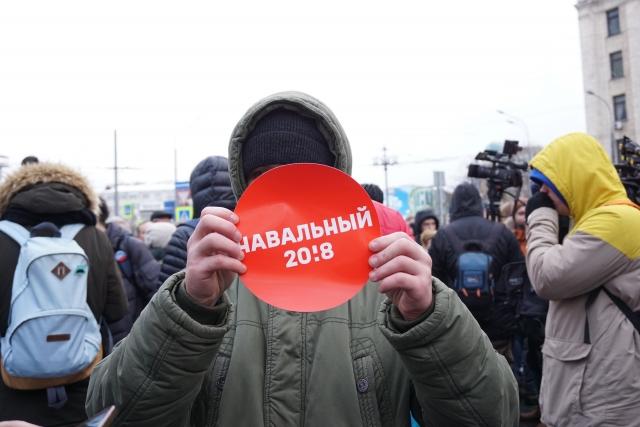 Навальный вместо головы