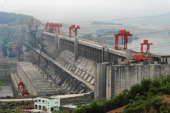 Плотина Три ущелья. Китай