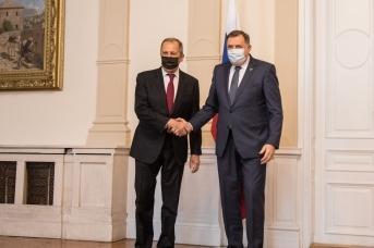 Сергей Лавров и Милорад Додик