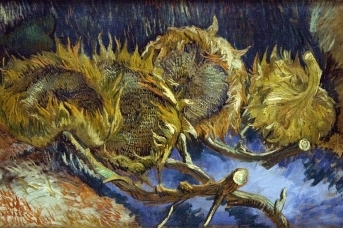Винсент Ван Гог. Подсолнухи. 1887