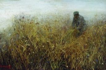 Василий Максимов. Залом ржи. 1903