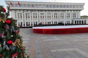 У здания администрации Тамбовской области