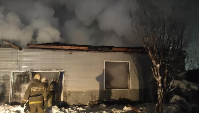 В Югре сгорела пекарня площадью 2400 квадратных метров