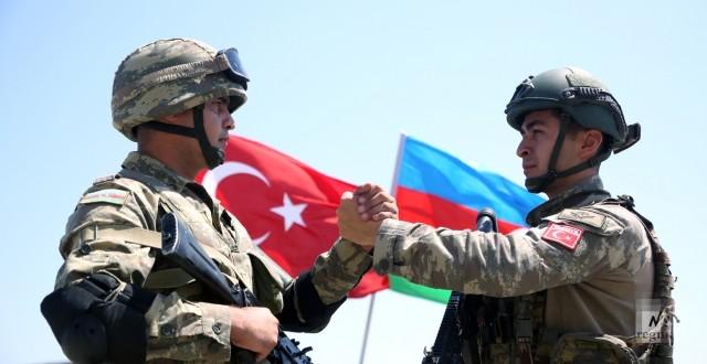 Совместные учения ВС Турции и Азербайджана