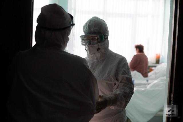Кардиолог Татьяна Макарова во время работы