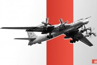 Дальний бомбардировщик Ту-95