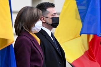 Официальный визит Майи Санду в Киев