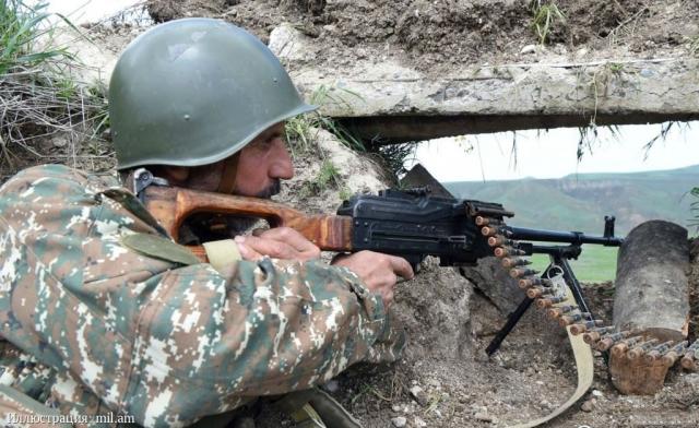 Ополченец Нагорного Карабаха