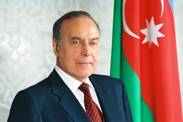 Бывший президент Азербайджана Гейдар Алиев