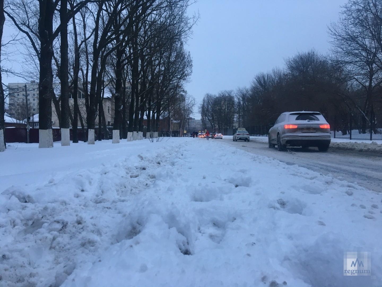 Жители Ростова-на-Дону оказались в снежном плену