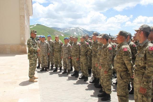 Турецкие военные на территории Азербайджана