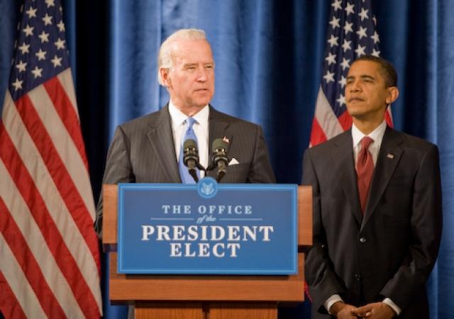 Джо Байден и Барак Обама
