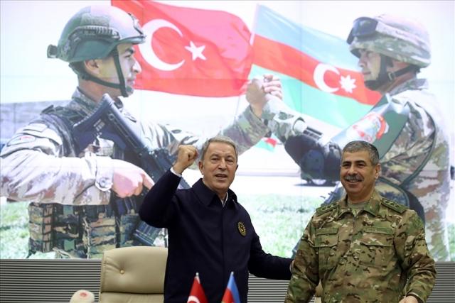 Министры обороны Турции и Азербайджана
