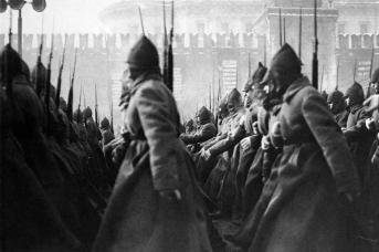 Парад на Красной площади. 1927