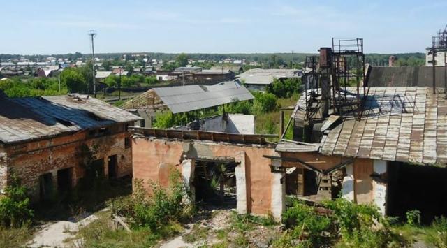 Заброшенное хозяйство в Алтайском крае