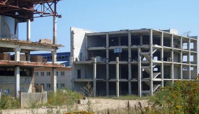 Заброшенный завод в Смоленске