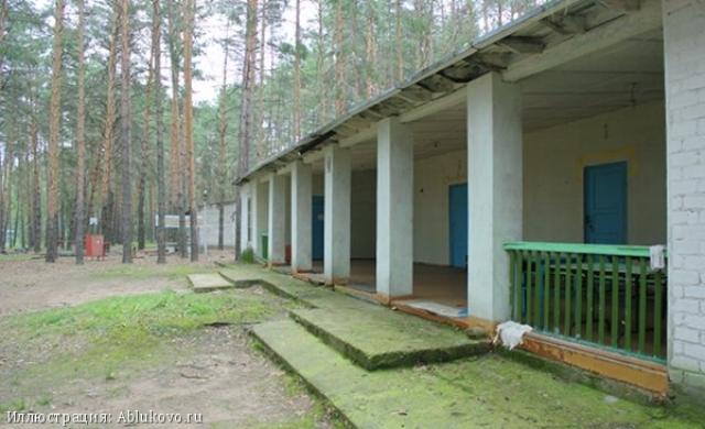 Заброшенный Пионерский лагерь. Ульяновская область