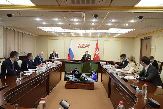 Тульская и Нижегородская области расширяют сотрудничество