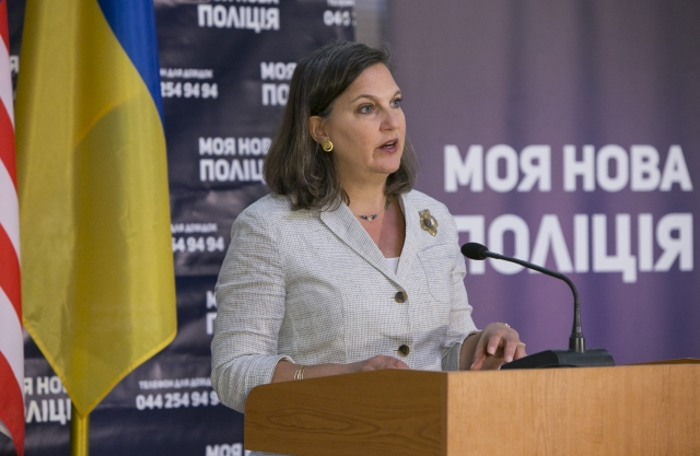 Виктория Нуланд. Киев, 2015
