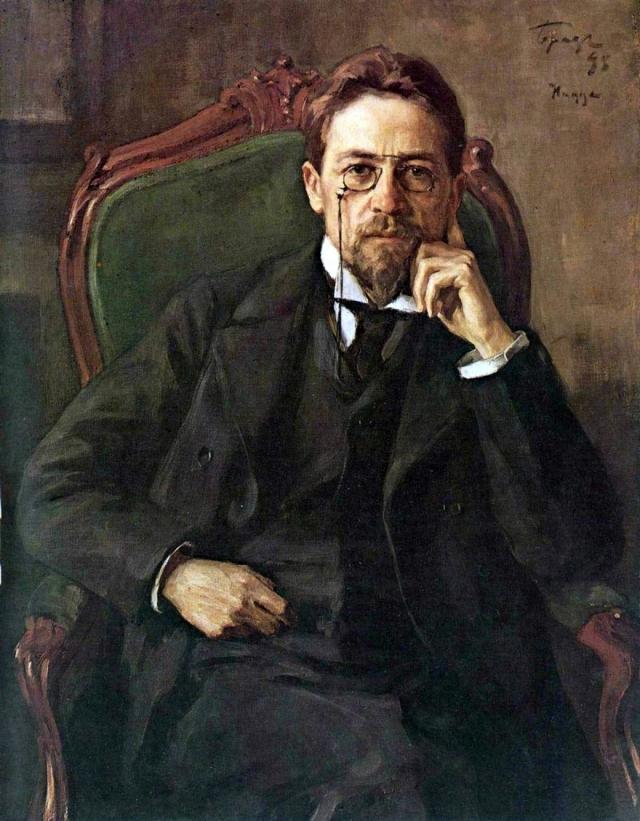 Осип Браз. Портрет Антона Павловича Чехова. 1898